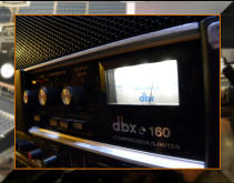 The Legendary DBX 160 compresssor, great on bass.